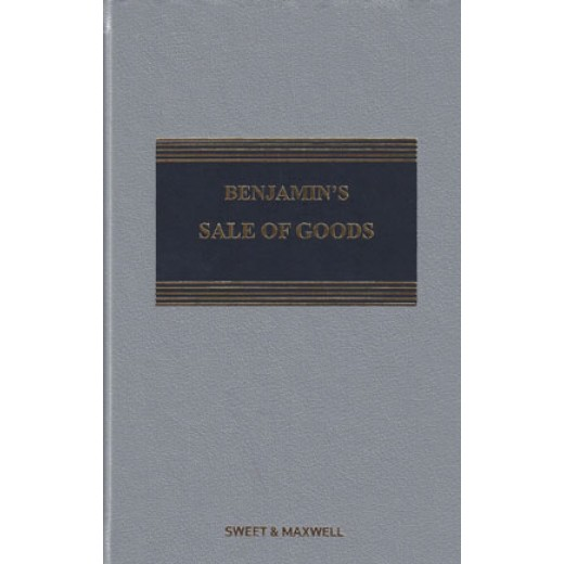 Benjamin's Sale of Goods 10th ed with 1st Supplement