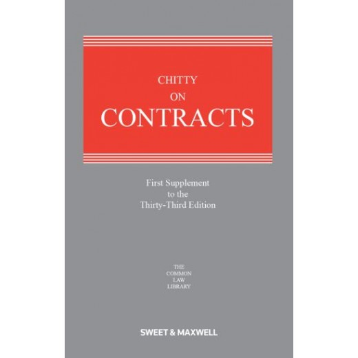 Chitty on Contracts 33rd ed: 1st Supplement