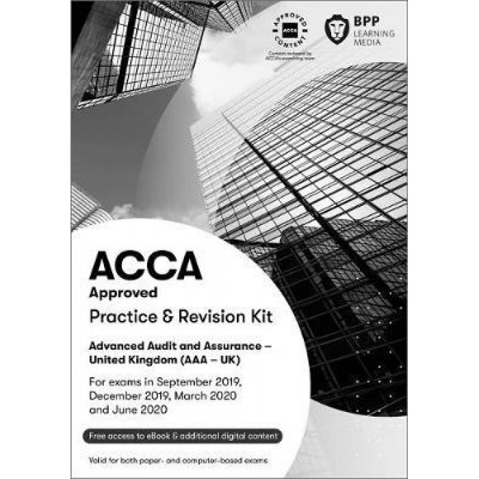 BPP ACCA AAA Advanced Audit and Assurance (UK) KIT 2019-2020