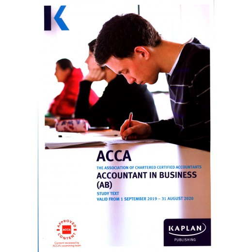 ACCA F1 (AB) Accountant in Business TEXTBOOK 2019-2020