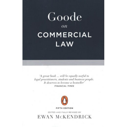 Goode on Commercial Law 5th edition 2017