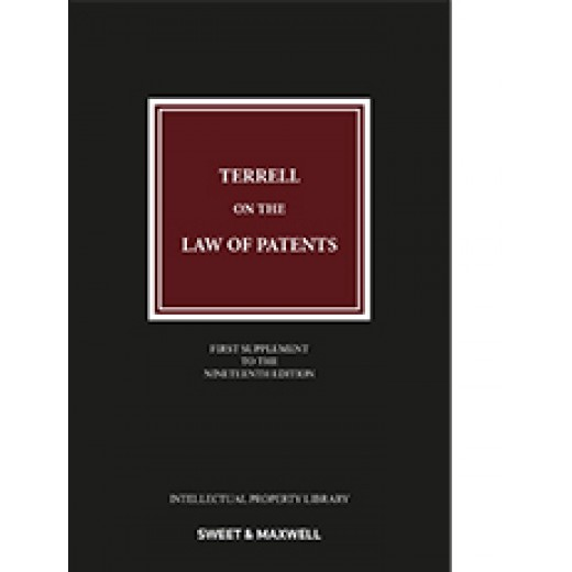 Terrell on the Law of Patents 19th ed: 1st Supplement