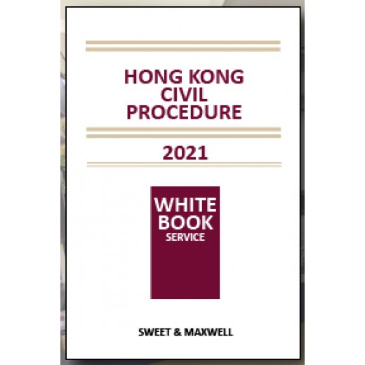*Pre-order* Hong Kong Civil Procedure 2021 (Available on Sep 2020)