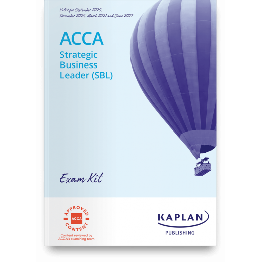 ACCA SBL Strategic Business Leader Exam Kit 2020-2021