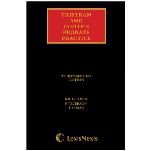 Tristram and Coote's Probate Practice 32nd ed