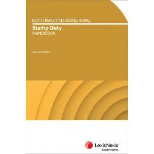 Butterworths Hong Kong Stamp Duty Handbook 2nd edition