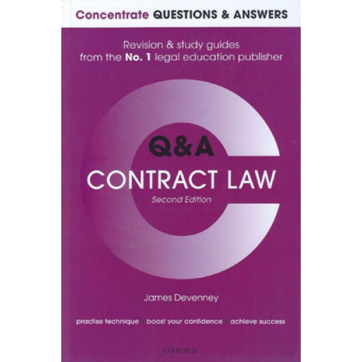 Concentrate Questions and Answers: Contract Law 2nd ed