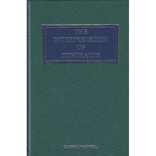 The Interpretation of Contracts 6th ed with 2nd Supplement