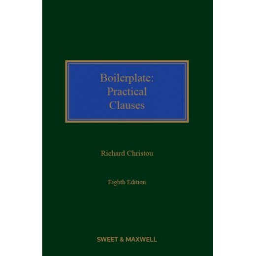 Boilerplate: Practical Clauses 8th ed