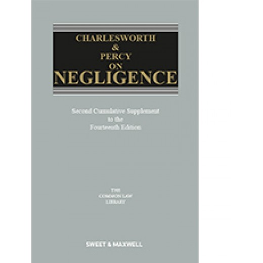 Charlesworth & Percy on Negligence 14th ed: 2nd Supplement