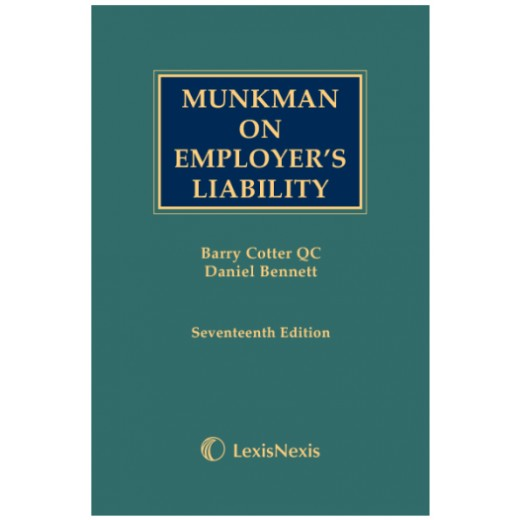 Munkman on Employer's Liability 17th ed