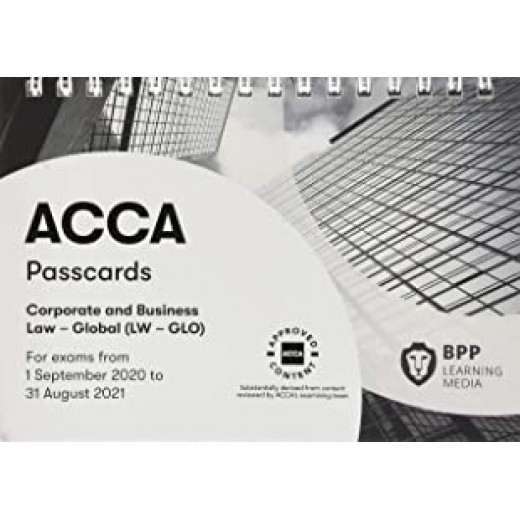 BPP ACCA LW Corporate and Business Law (Global) Passcard 2020-2021
