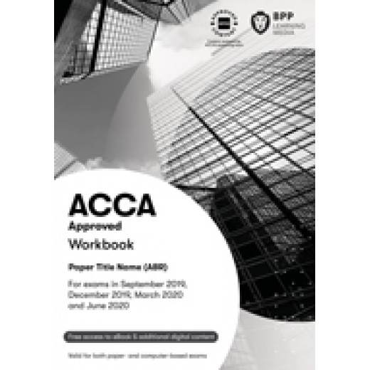 BPP ACCA AFM Advanced Financial Management WORKBOOK 2020-2021