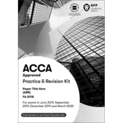 BPP ACCA AA Audit and Assurance Exam Kit 2020-2021