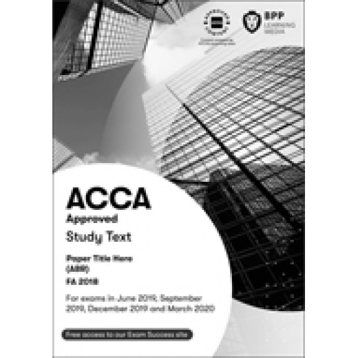 BPP ACCA FR Financial Reporting WORKBOOK 2020-2021