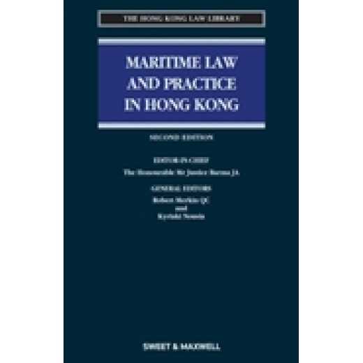 Maritime Law and Practice in Hong Kong 2nd edition 2019 + Proview